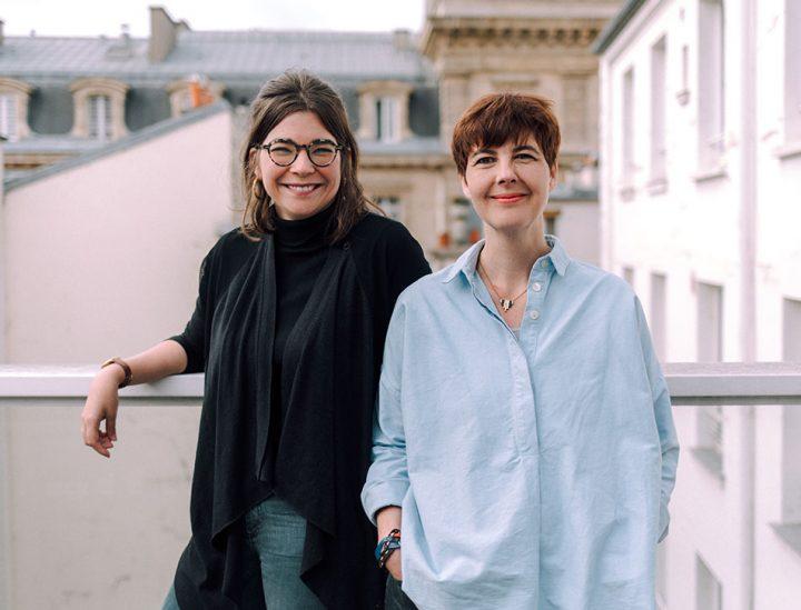 Lola Nicolle et Sandrine Thévenet